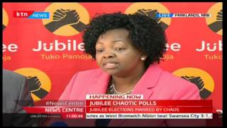 News Center: JAP Secretariat, Secretary General-Veronica Nduati quelling rumors on party elections
