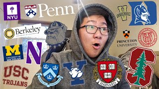 *EMOTIONAL* College Decision Reactions 2020 (IVIES, STANFORD, DUKE...etc) *WATCH UNTIL THE END*