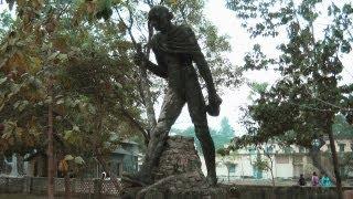 Sculptures in Shantiniketan, West Bengal