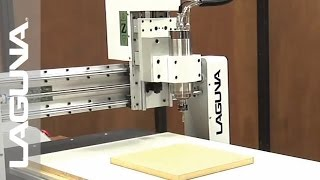 Picture Frame Cut-Out - IQ CNC - Laguna Tools