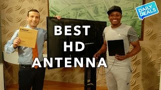 $20 Best TV Cable Cord Cutting Antenna - The Deal Guy