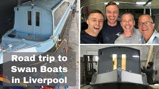Deciding on a New Build Narrowboat - Visiting Swan Boats in Liverpool