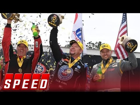 Bo Butner, Robert Hight and Richie Crampton win at the NHRA Gatornats | 2019 NHRA DRAG RACING