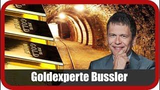 """Goldexperte Bußler: """"Gold und Silber schleichen nach oben"""""""