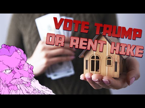 Landlord THREATENS Rent Hike Unless Trump Wins
