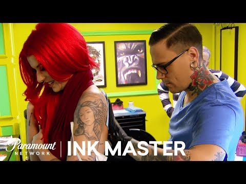 Sexy & Proportionate - Pin Up: Elimination Tattoo | Ink Master: Shop Wars (Season 9)