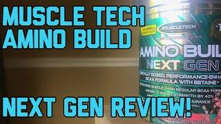 Muscle Tech Amino Build Next Gen Review!