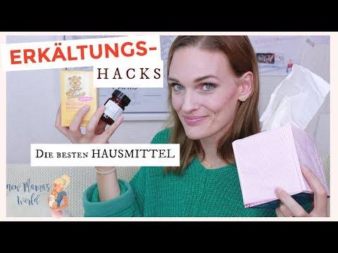 ERKÄLTUNGS- HACKS // Unsere Hausmittel gegen Schnupfen, Husten & Co // für Kinder + Kleinkinder