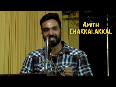 Inspirational speech Amith Chakkalakkal