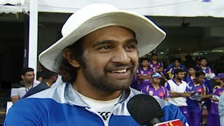 Chiranjeevi Sarja Shares His Memories During Match Practice In CCL