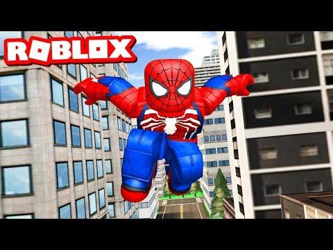 BECOMING ROBLOX SPIDER-MAN!! (видео)