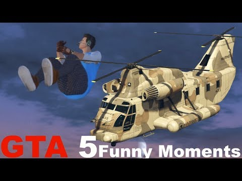 GTA 5 Glitches Online Funny Moments