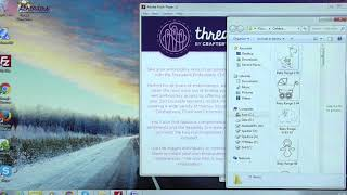Threaders - Print and Stitch CD tutorial