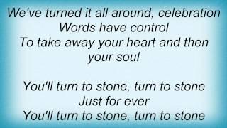 Dio - Turn To Stone Lyrics