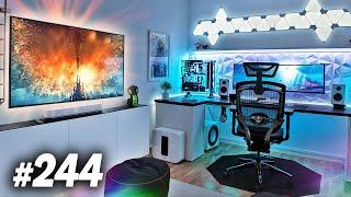 Room Tour Project 244  - DOPE Desk & Gaming Setups!