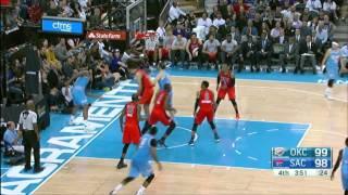 Oklahoma City Thunder vs Sacramento Kings | April 9, 2016 | NBA 2015-16 Season