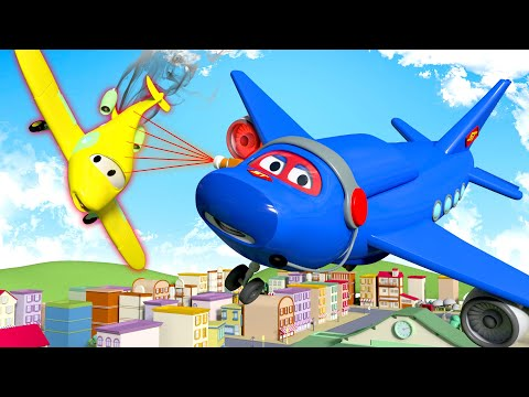Jumbo Jet  - Carl Si Truk Super 🚚 ⍟ truk kartun untuk anak-anak l Indonesian Cartoons for Kids