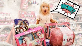 BUYING ANYTHING Parker WANTS Challenge!
