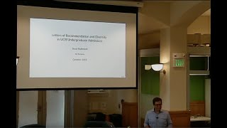 Letters of recommendation in Berkeley undergraduate admissions