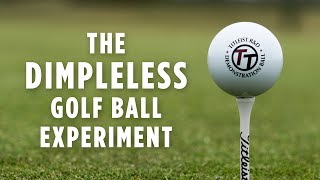 How Far Does A Golf Ball Without Dimples Go?
