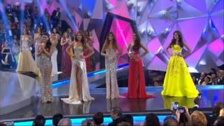 Miss Colombia 2014 Top 5 Finalists Announcement
