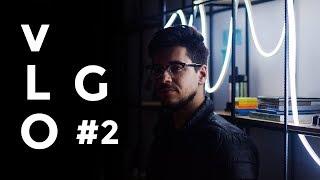 V L O G #2 EFEITO DE ILUMINAÇÃO COM R$120 - Projetando a Firma