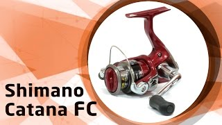 Катушка shimano catana fc 4000