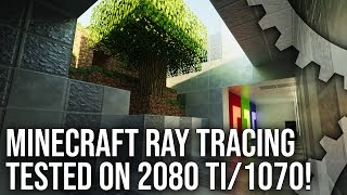 Minecraft Ray Tracing Live Play: A Path Traced Showcase?