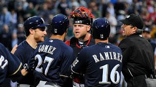 Milwaukee Brewers Fights Compilation