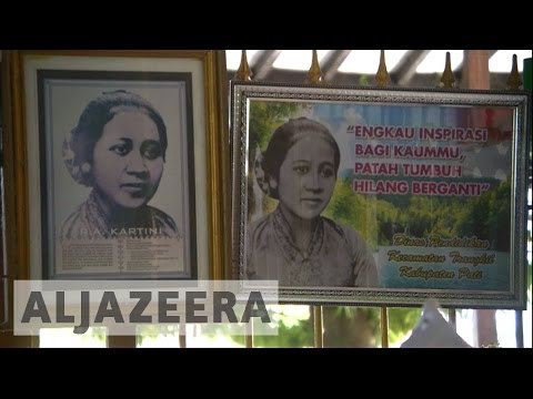 Indonesian film honours women's rights activist