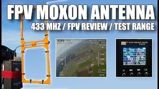 Moxon antenna VS srh-771 Dragon-link 433 mhz / Long Range FPV