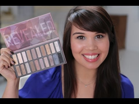 How To: Gunmetal Eye Makeup Tutorial with the Coastal Scents Revealed Palette
