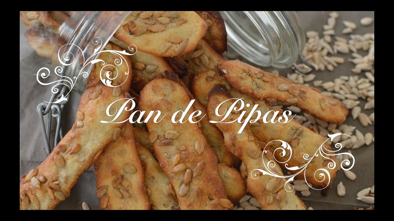 Barritas de Pan de Pipas Caseras para picar entre horas | Como hacer Pan de Pipas | Pan con pipas
