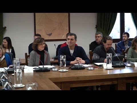 """, title :'El Gobierno finaliza una jornada """"muy productiva"""" en Quintos de Mora'"""