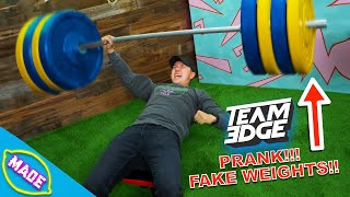 We Made Fake Weights!! Ft. Bobby from Team Edge