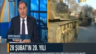 NTV Canlı Yayın Konuğu Şeref Malkoç