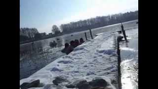 preview picture of video 'Ślesin - mój chrzest w morsowaniu'