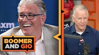 Mike Francesa calls in to defend his take on the Giants' draft class | Boomer and Gio