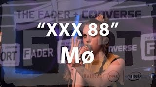 "Mø, ""XXX 88"" - Live at The FADER FORT"