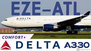 FLIGHT REPORT | Buenos Aires to Atlanta | Delta Air Lines COMFORT+ AIRBUS A330-300