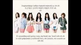A Pink - Hush Hush (Hangul + Rom + English + Español)
