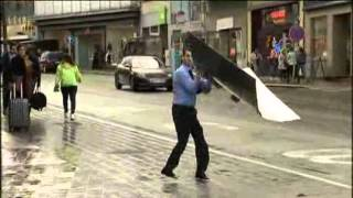 Strong Winds Knock Down Pedestrians, Trees In Brussels And Amsterdam