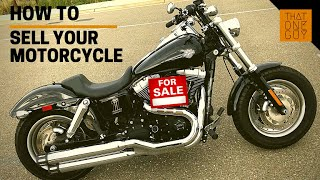 When to sell a motorcycle