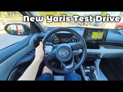 Toyota Yaris Hybrid 2021 Test Drive POV Review | 5 Stars Quality