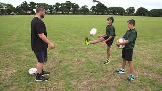 Rugby Ball Tricks