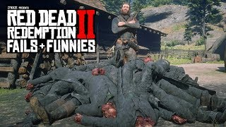 Red Dead Redemption 2 - Fails & Funnies #18