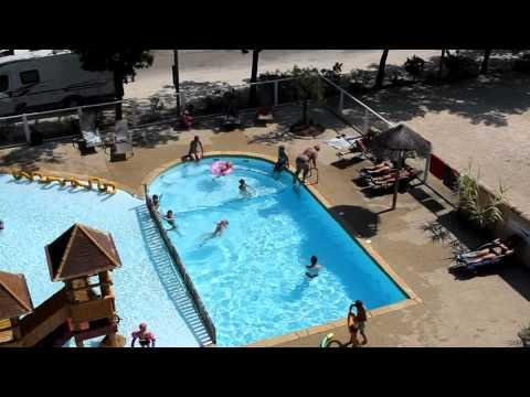La piscine du Camping les Coudoulets