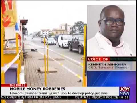 Mobile Money Robberies - The Pulse on JoyNews (22-8-18)