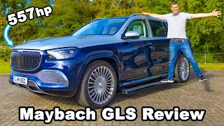 Mercedes-Maybach GLS review with max speed on the Autobahn! 😱