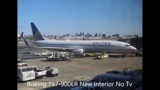 United Airlines Boeing 737-900ER Newark to West Palm Beach Taxi, Takeoff & Landing 4/10/2016